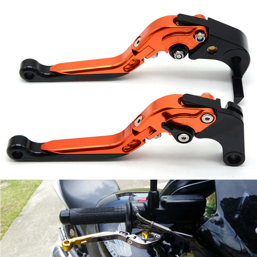 for Hot sales Motorcycle Accessories CNC Adjustable Folding Extendable Brake Clutch Levers For BMW S1000RR 2010-2017 2015 2014 2 for ducati multistrada 1200 dvt 2015 motorcycle accessories cnc billet aluminum folding extendable brake clutch levers