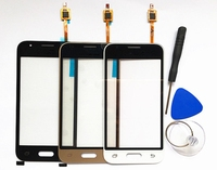 Touch Glass Panel For Samsung Galaxy J1 Mini SM J105F J105 Touch Screen Digitizer Glass Free