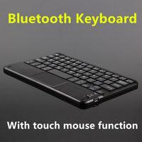 Teclado bluetooth para samsung galaxy tab s2 8.0 tablet pc SM-T710 t715 t713 t719 teclado sem fio android windows toque caso