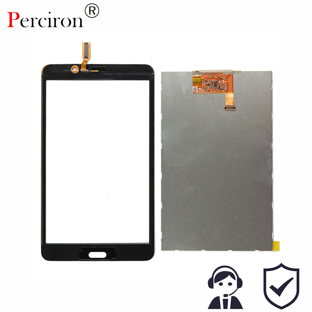 New 7'' For Samsung Galaxy Tab 4 7.0 T231 SM-T231 T230 SM-T230 Touch Screen LCD Display Matrix Panel Tablet Replacement Parts for samsung galaxy tab 4 7 0 sm t230 t230 full lcd display panel black touch screen digitizer glass assembly replacement