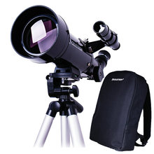 Cheapest prices Terrestrial Astronomical Compact Telescope Travel Scope 70×400 W/Bag