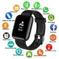 D13 ספורט חכם שעון גברים דם לחץ עמיד למים Ip67 Smartwatch קצב לב צג כושר גשש שעון עבור אנדרואיד IOS