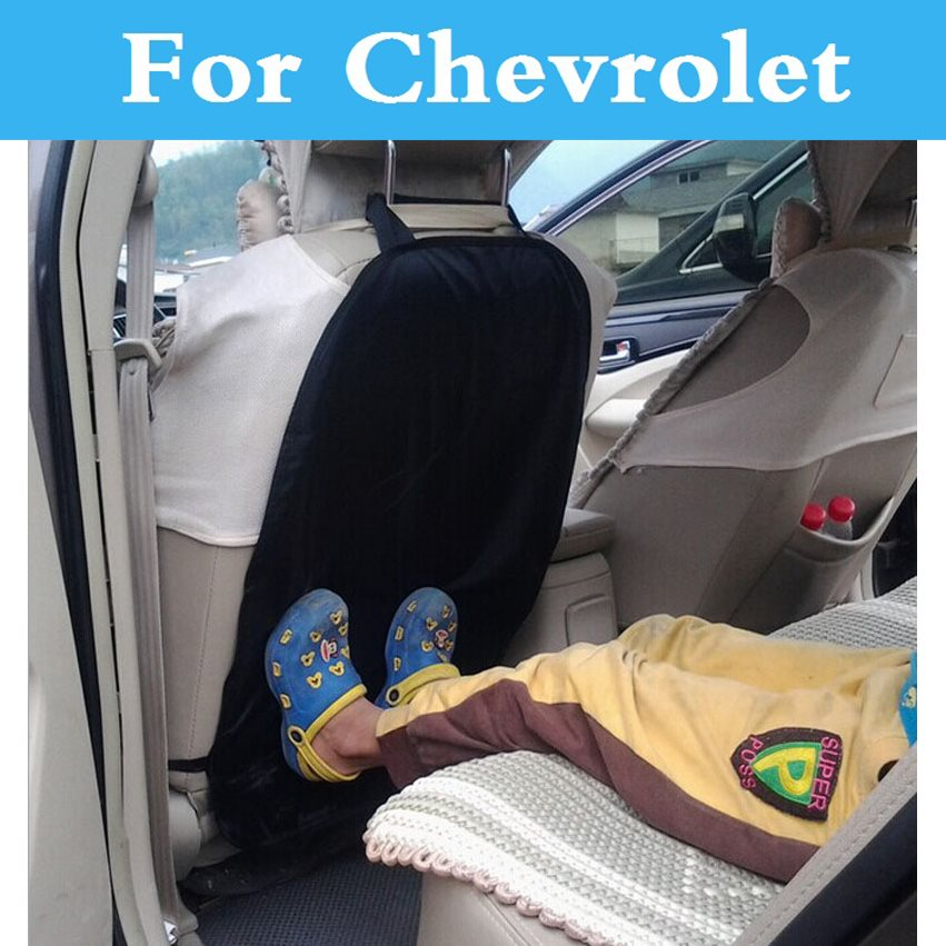 Waterproof Protective Anti Kicking Padd Child Baby Car Seat Back Scuff Dirt Protector For Chevrolet Aveo Blazer Camaro Cavalier