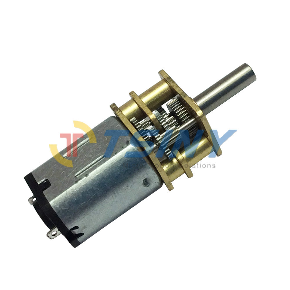 Small gear motor dc12v 150rpm min mini dc geared motor for Small motors for robots