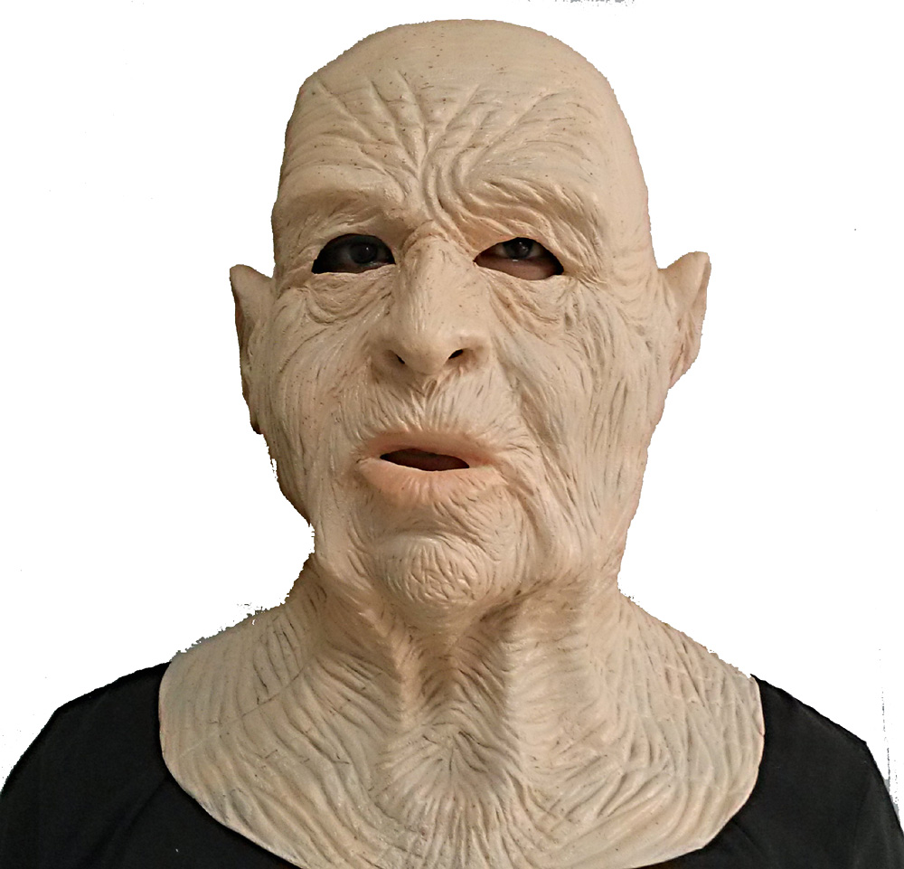 Hot Sale High Quality Celebrity male Face Old men latex Fancy Dress Costume rubber realistic old man mask in Party Masks from Home Garden