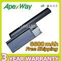 Apexway 9 células 6600 mah bateria para dell latitude d620 d630 TD116 D631 D630c para Precision M2300 HX345 NT379 PC764 RC126 UD088
