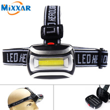 ZK23 600LM Headlamp High Quality LED Headlight Mini Plastic Head Light Lamp Flashlight 3AAA Torch For Camping Hiking NO Battery