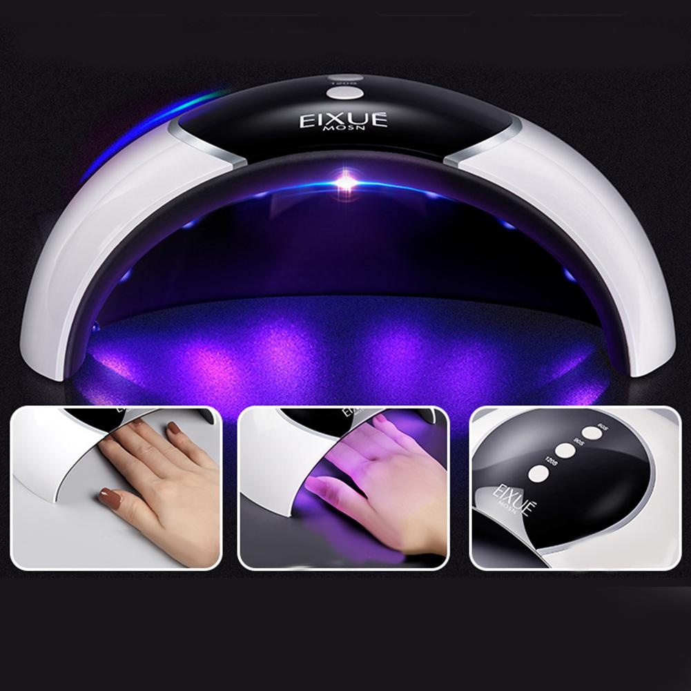 HOT SALE 36W LCD Display UV Lamp LED Nail Dryer Cure Gel Polish Automatic Sensor Machine