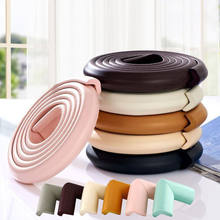 Baby Soft Corner Protector Bumper Table Cushion Strip Chic Safety Desk Edge Covers(China)