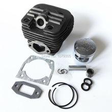 52cc бензопила двухканальный цилиндр и поршень полный комплект диаметр 45 мм 5200 бензопила цилиндр комплект