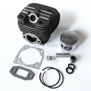 Image 1 - Kit complet cylindre et piston pour tronçonneuse à double canal 52cc, diamètre 45mm 5200