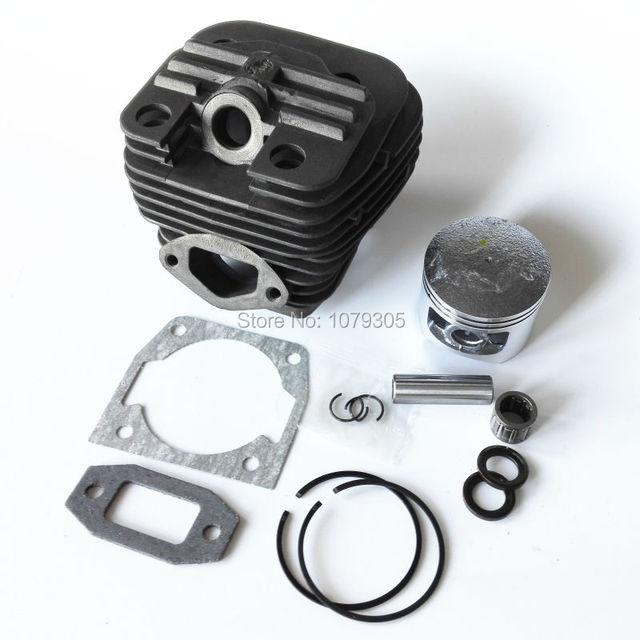 Kit complet cylindre et piston pour tronçonneuse à double canal 52cc, diamètre 45mm 5200