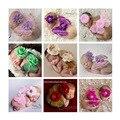 Borboleta Bebê recém-nascido Fotografia Props Flor Headwear + Asas de Borboleta 8 Cores Infantil Do Bebê Da Foto Adereços Acessórios