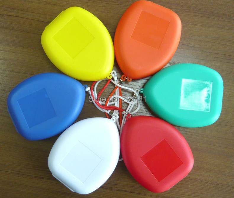 wholesale 3pcslot Artificial breathing mask,emergency mask, one-way valve mask, CPR maskcpr,face shield Custom logo