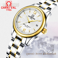 CARNIVAL Top Luxury Watches Ladies Mechanical Watches Waterproof  Automatic Fashion Watches Student Goddess Watches