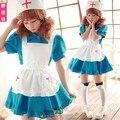 Women's Dress Cosplay Naasufuku Nurse Uniform Apron Dress Meidofuku French Maid Uniform Temptation Sexy Costumes