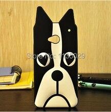 Capa HTC um de silício, 3d Animal dos desenhos animados amor cão / Zebra Marc criaturas caso de telefone macio para M7 Protective Shin Shell