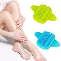 Foot Cleaner Scrub Sucker Brush Exfoliating Feet Scrubber Washer Bath Spa Shower