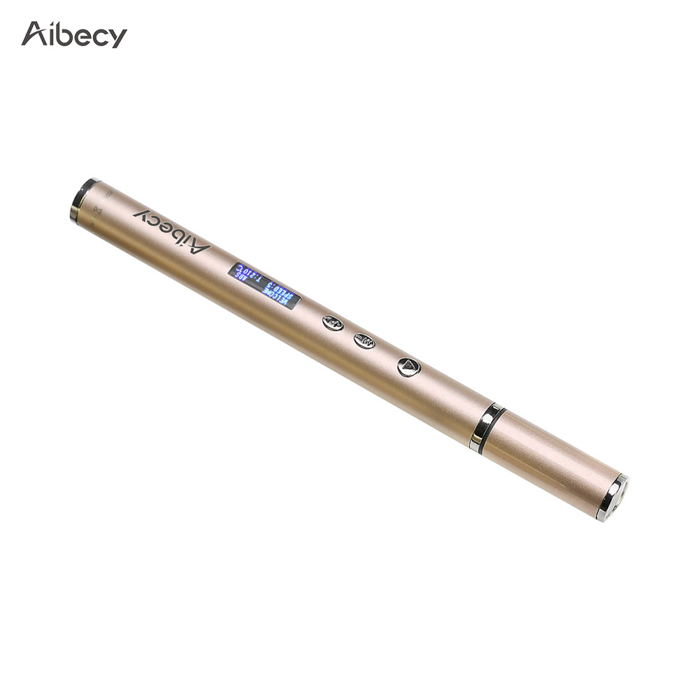 Good Aibecy 3d Printing Pen Work With Abs Pla Filament 3d Pen Special Creative & Eco-friendly Toy Gifts For Kids Art Craft Drawing Computer & Office