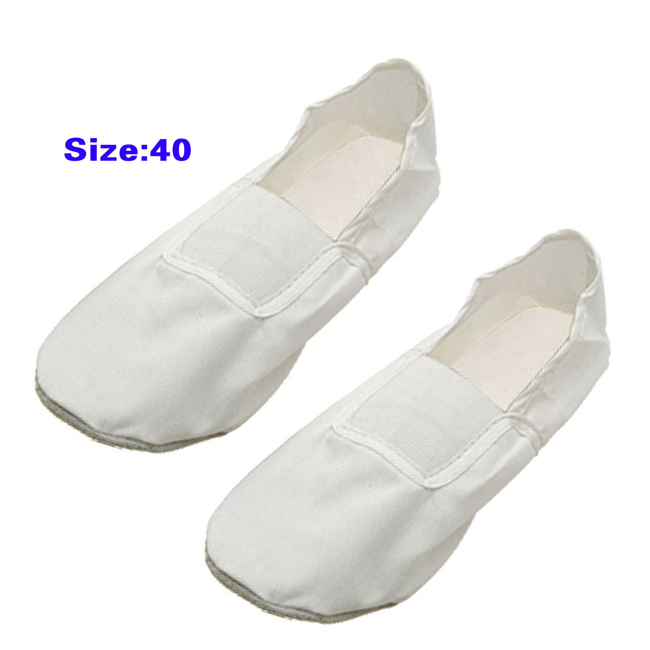 5 PCS White Dancer Dancing Ballet Shoes Slippers US Sz 9.5