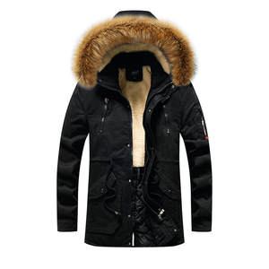 Padded Jacket Hoodie Coat Parkas Men's Winter Plus-Size Cotton Invierno Tops Abrigos