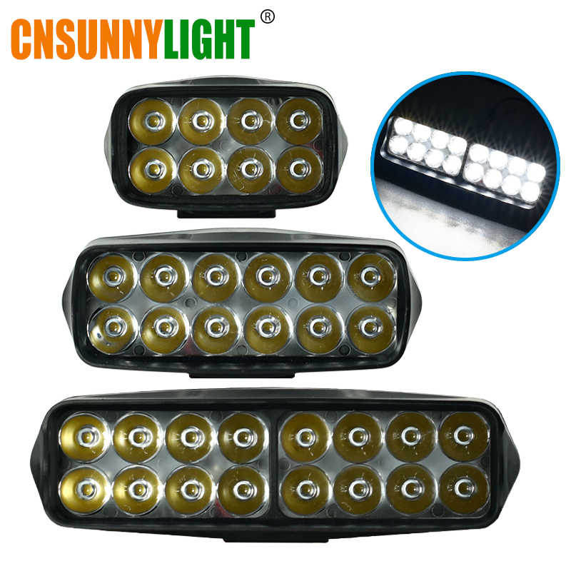 CNSUNNYLIGHT LED Work Bar Light Headlight for Car Motorcycle Tractor Boat Off Road 4WD 4x4 Truck SUV ATV Fog Lights Lamp 12V 24V