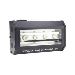 Darmowa wysyłka Kingkong 4*25 W RGB stroboskop LED oświetlenie sceniczne efekt dla dj disco sterowanie dmx światło do mycia pracy z ruchomą głową