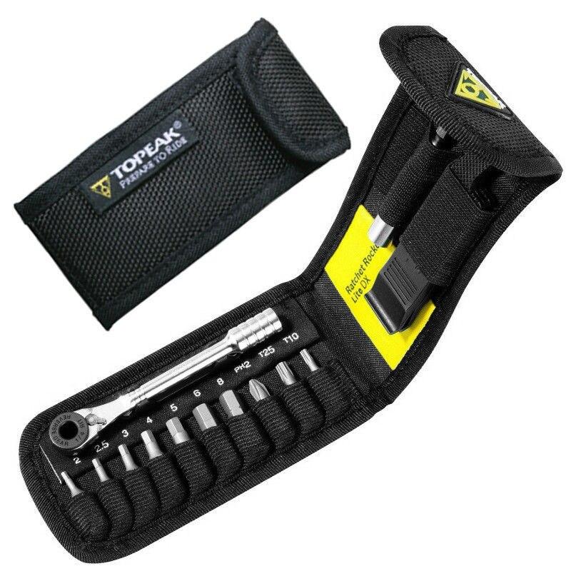 Topeak tt2524, ракеты lite функция Инструменты горный велосипед T10/T25 Torx цепи Pin выключатель hex Гаечные ключи шестигранный ключ набор торцевых