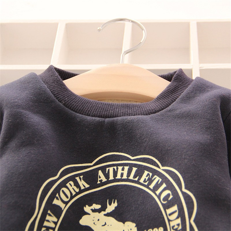 Boy's Winter Thick Hoodies