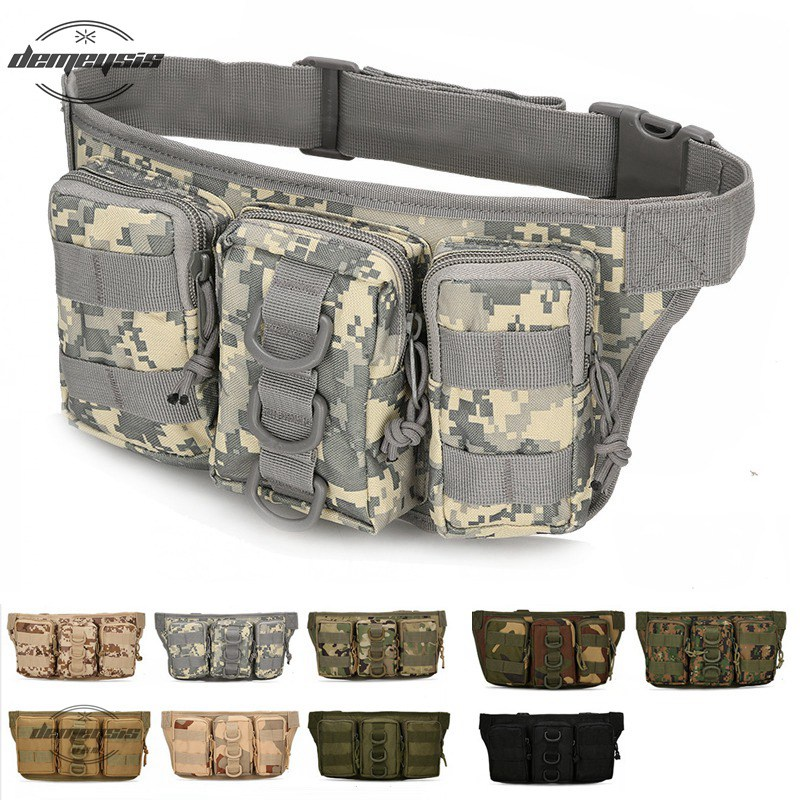 Outdoor Camping Waist Bags Tactical Pouch Belt Military Waist Bag Multi-pocket Hunting Hiking Bag Tactical BagOutdoor Camping Waist Bags Tactical Pouch Belt Military Waist Bag Multi-pocket Hunting Hiking Bag Tactical Bag