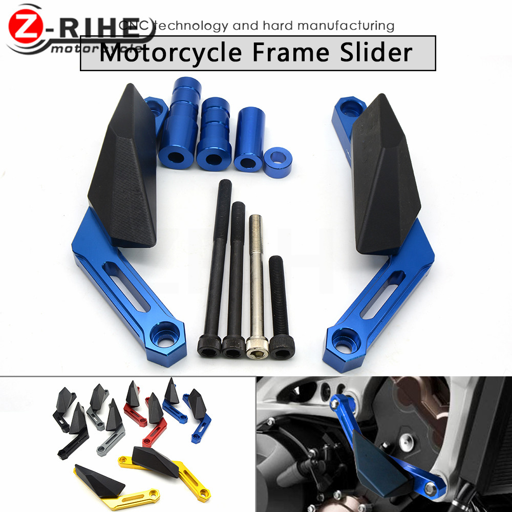 For Yamaha MT 09 MT09 MT-09 XSR900 2016 fz09 Motorcycle Frame Slider Motoecycles Crash Pads Protect Motorbike Falling Protector