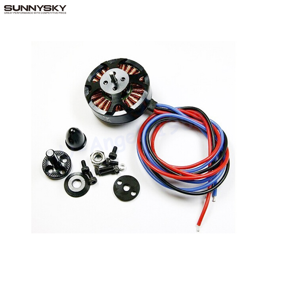1pcs Sunnysky X4110S 340KV 400KV 460KV 580KV 680KV High Efficiency Brushless Motor for Multicopter 4S new lang yu x4110s 340 400kv 460 680kv 580kv high efficiency multi axis disc motor