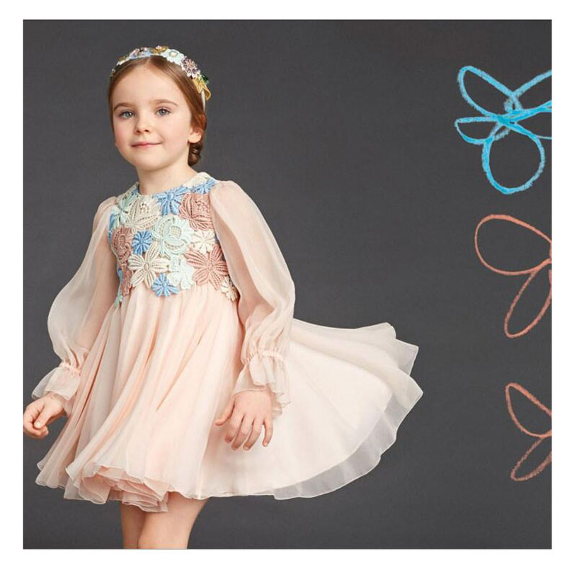 ᐃFashion Spring Baby Girl Costume Brand High Quality Princess Dress ...