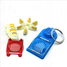 Multifuncional cortador de ovo aço inoxidável corte cortador de ovo slicer gadgets acessórios cozinha
