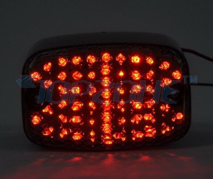LED Brake Tail Light For YAMAHA VIRAGO 700/750 81-96 / VIRAGO 1000 86-07 / VIRAGO 1100 95-07 / VMAX 85-07