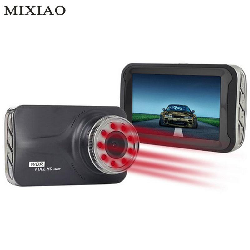 MIXIAO 9 pcs IR Lumière Nuit Vision Voiture Caméra FHD 1080 p G-Capteur 170 Degrés Voiture DVR T639 sur Cam Dash Caméra Dash Cam