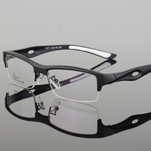 Thể Thao Gọng Kính Khung Hấp Dẫn Nam Thiết Kế Đặc Biệt Thoải Mái TR90 Nửa Gọng Vuông Kính Thể Thao Khung Eyeglass1077
