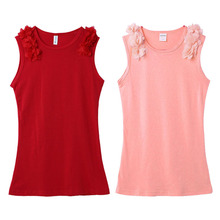 Summer Sleeveless Children Dress Girl Cotton Blend Baby Dress Clothing Infant Kids Flower Princess Dress Baby