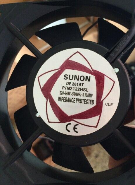 axial ac fan 120x120x25 Cooler Cooling Fan 120 120 25 Genuine Power 12025 220V 0 1A