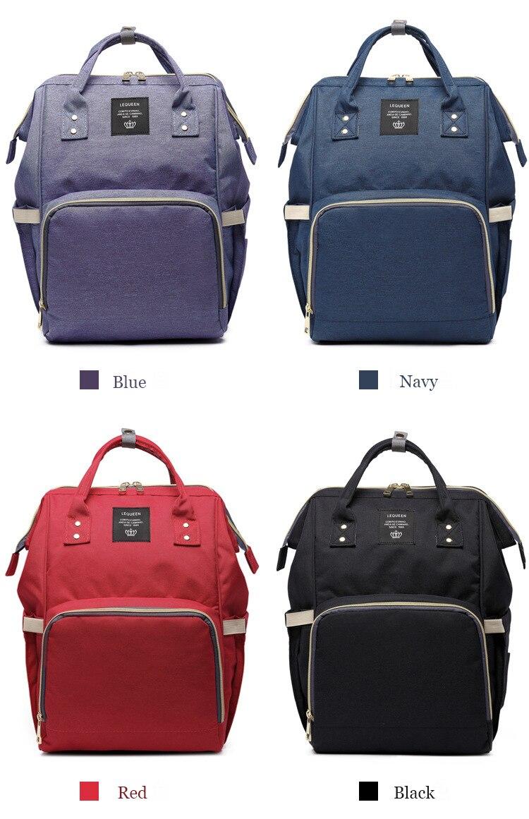 HTB1m0F7lfDH8KJjy1Xcq6ApdXXaM Maternity Bag Waterproof Diaper Backpack for Mom Nappy Bags Large Capacity Baby Bag Travel Mummy bag Designer Nursing Bag