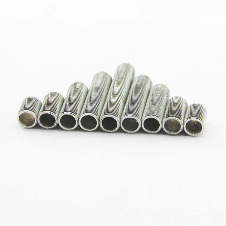 10 Pieces/lot 15-300mm Metric M10*1.0mm Pitch Threaded Hollow Tube Tooth Tube Threaded Rod Hollow Tube DIY Lighting Accessories