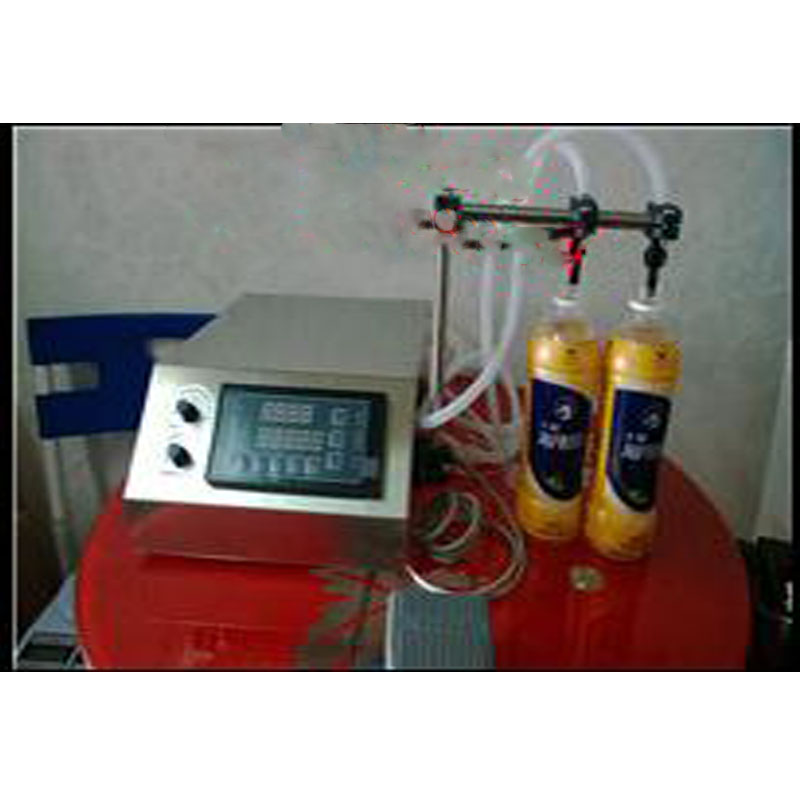 New Gear pump liquid filling machine (3-4000ml) for perfume, oil, juice, water, sauce, milk stainless steel liquid filling machine adjustable foot quantitative perfume filling machine cfk 160