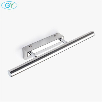 Modern Stainless Steel LED front mirror light bathroom makeup wall lamps led vanity toilet wall mounted sconces lighting fixture 3