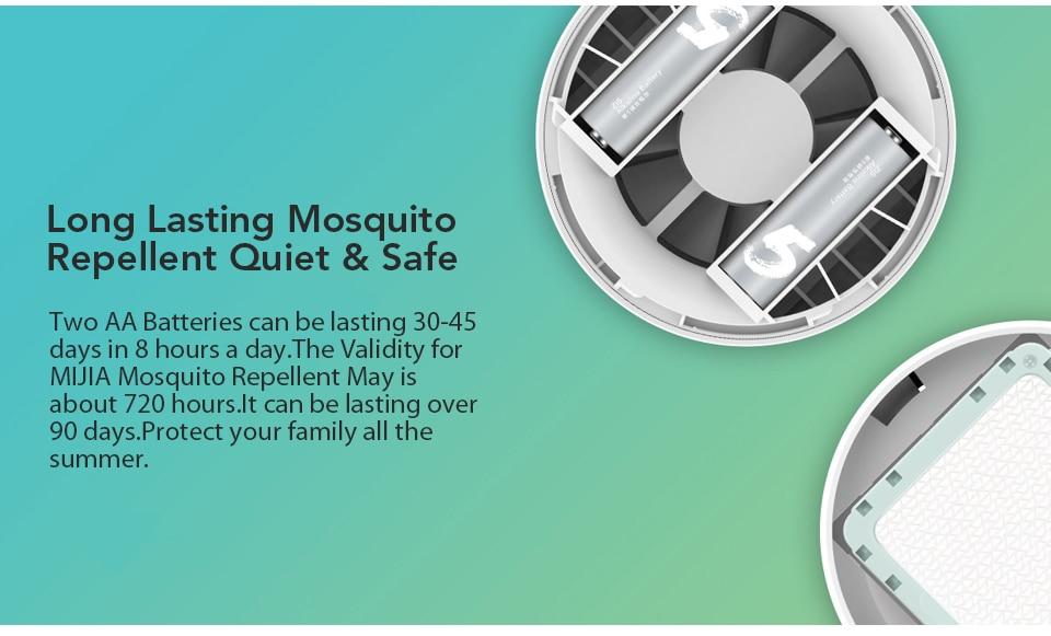Xiaomi Mijia Newest Original Mosquito Dispeller Garden Electric Household Insert Killer Harmless Mosquito Repeller (5)