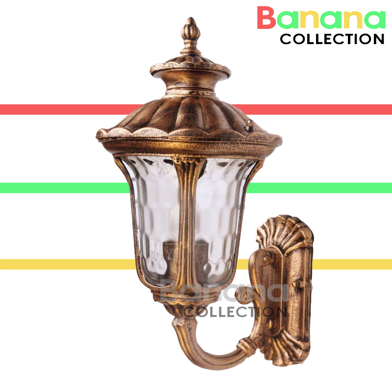 American Retro Outdoor Wall Sconce Lighting LED Wall lamp Waterproof Garden Wall Light Fixtures Aluminum Glass Porch Lights american vintage wall lamp led outdoor wall sconce lighting ip65 waterproof garden wall light fixtures iron glass porch lights