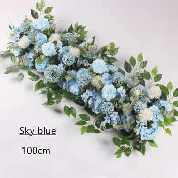 Angela flower Artificial & Dried Flowers Sky blue