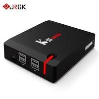 JRGK tv box Android 7.1 TV Box Amlogic S912 Octa Core 3GB 16GB Smart 2.4G/5GHz Wifi Bluetooth set top box iptv 4K Media Player