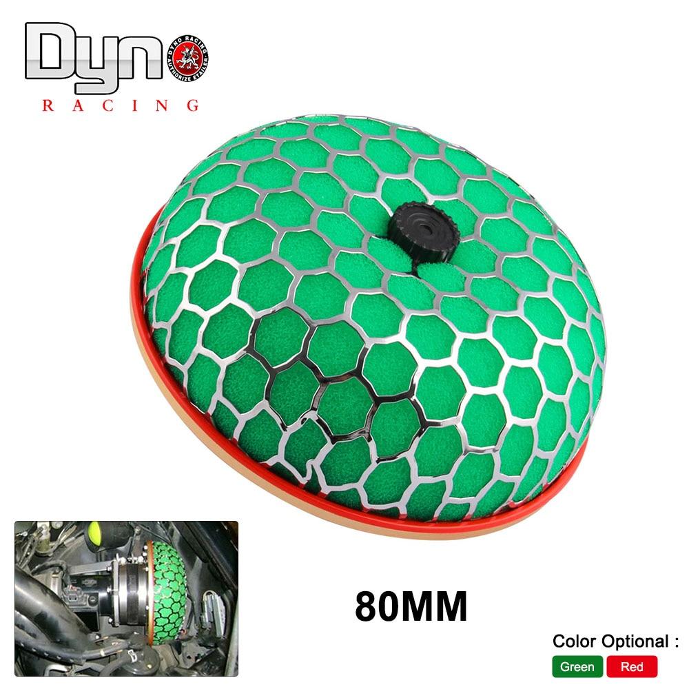 80mm Round Mushroom Super Power Car Air Filter Cleaner Intake Flow N-AF002