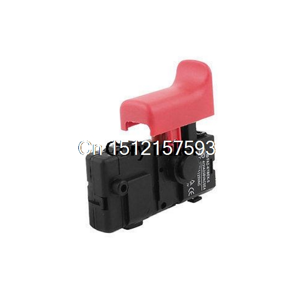 Electric Power Tool Part Impact Drill SPST Lock on Trigger Switch for Bosch 22 spno 5e4 lock on electric drill power tool trigger switch