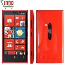 Original Nokia Lumia 920 Unlocked 4.5''IPS Win 8 OS Dual-Core 1.5GHz 32GB 3G GPS WIFI 8.7MP 1080P Windows Phone Nokia 920
